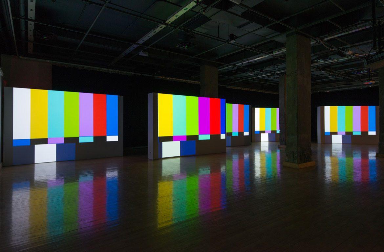 "Susan Pui San Lok, ""Faster, Higher"". Installation view MAI Gallery © Paul Litherland"