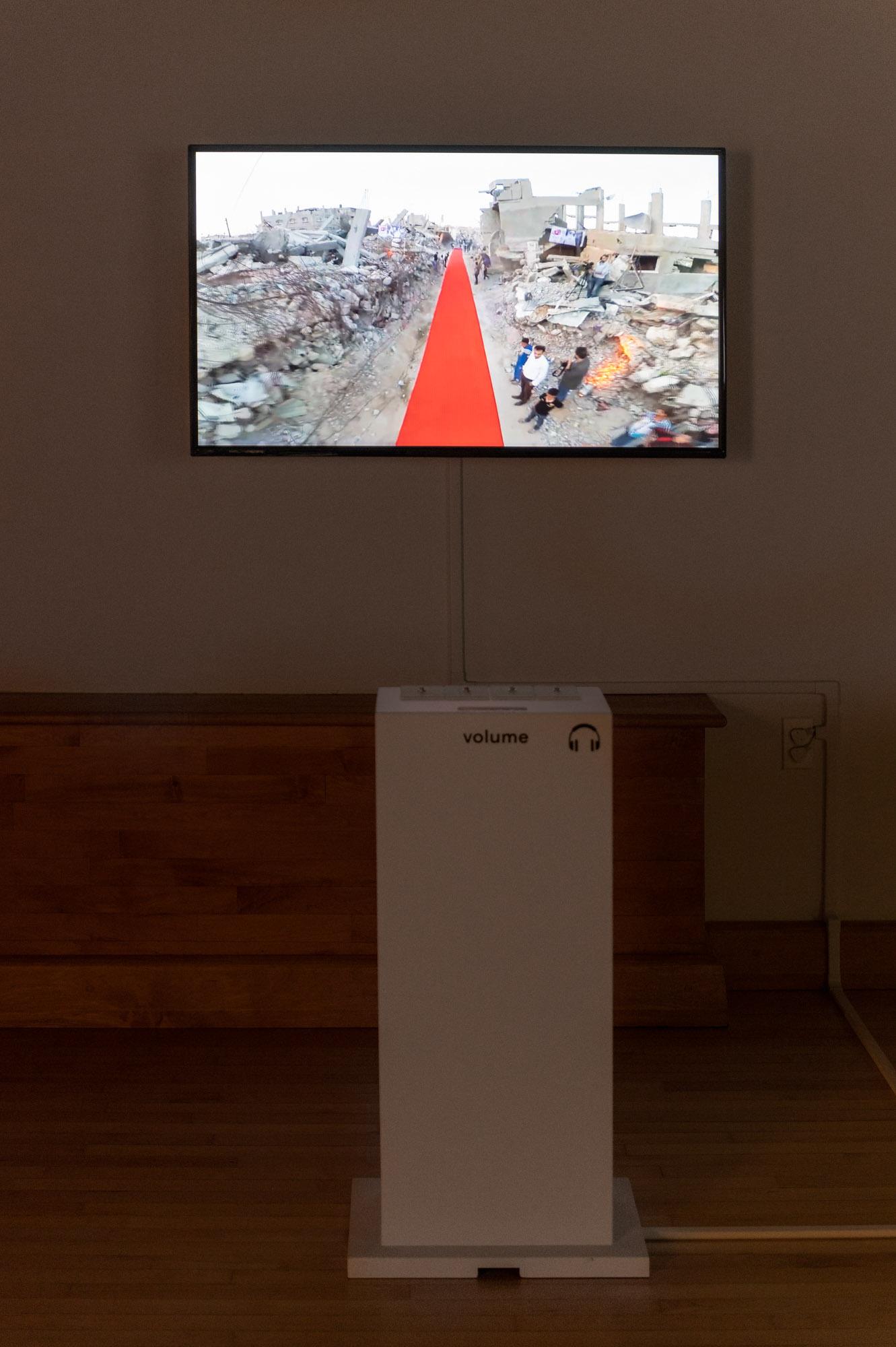 Khalil al-Mozain, Red Carpet Human Rights Film Festival, 2015